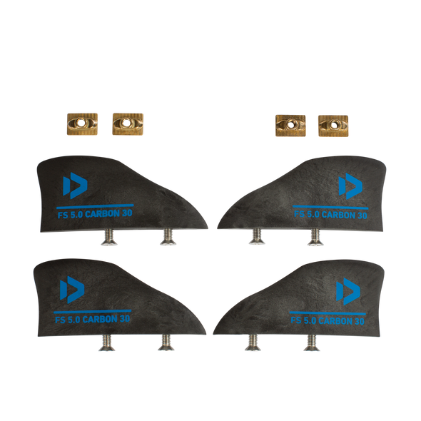 2019 Duotone Freestyle Fin Set Carbon 30
