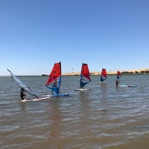 Beginning Windsurfing - Group Lesson