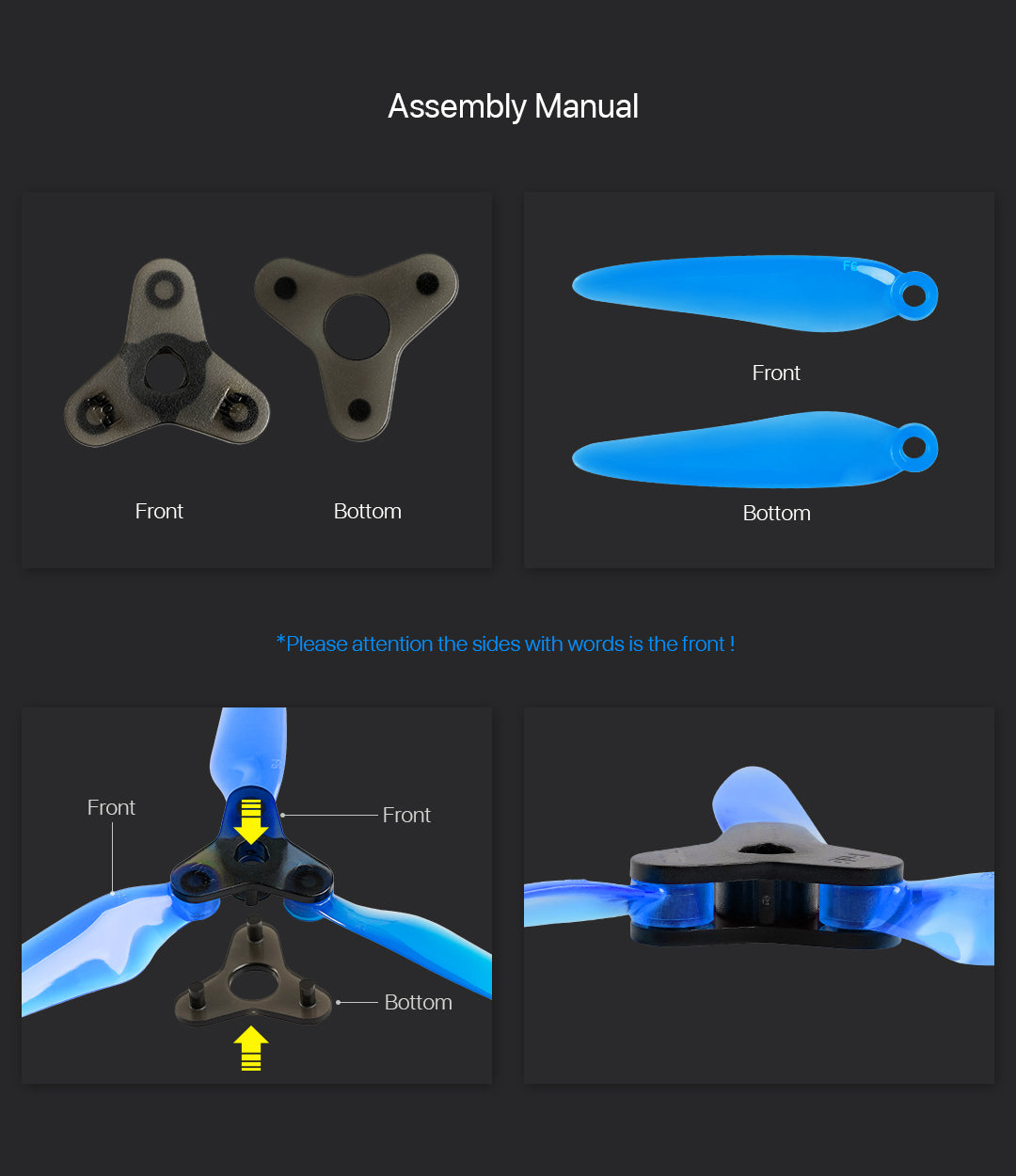 "DALPROP Fold 6"" Folding Propellers"