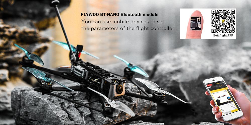 Flywoo Hexplorer Blue-Tooth Built-In