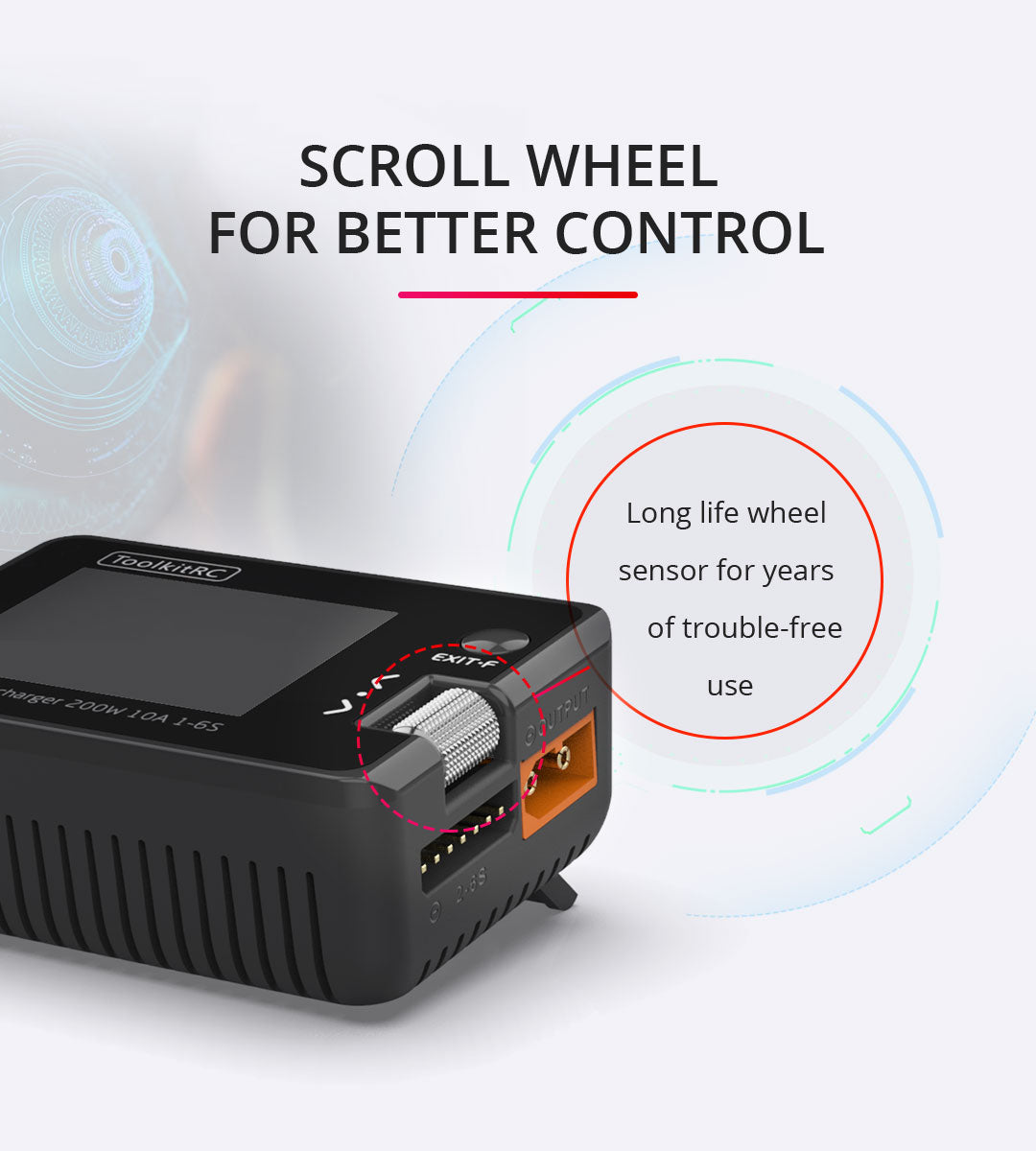 ToolkitRC M7 Multi-function Battery Charger