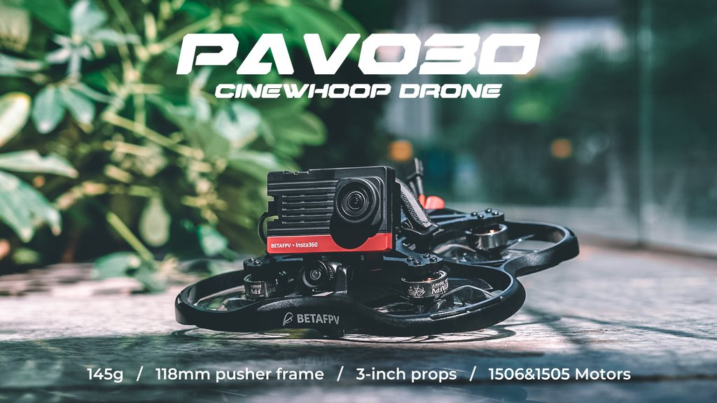 BetaFPV Pavo30 Whoop Quadcopter