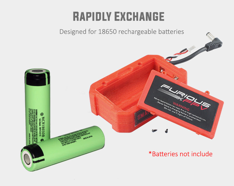 Furious FPV Smart Battery Case