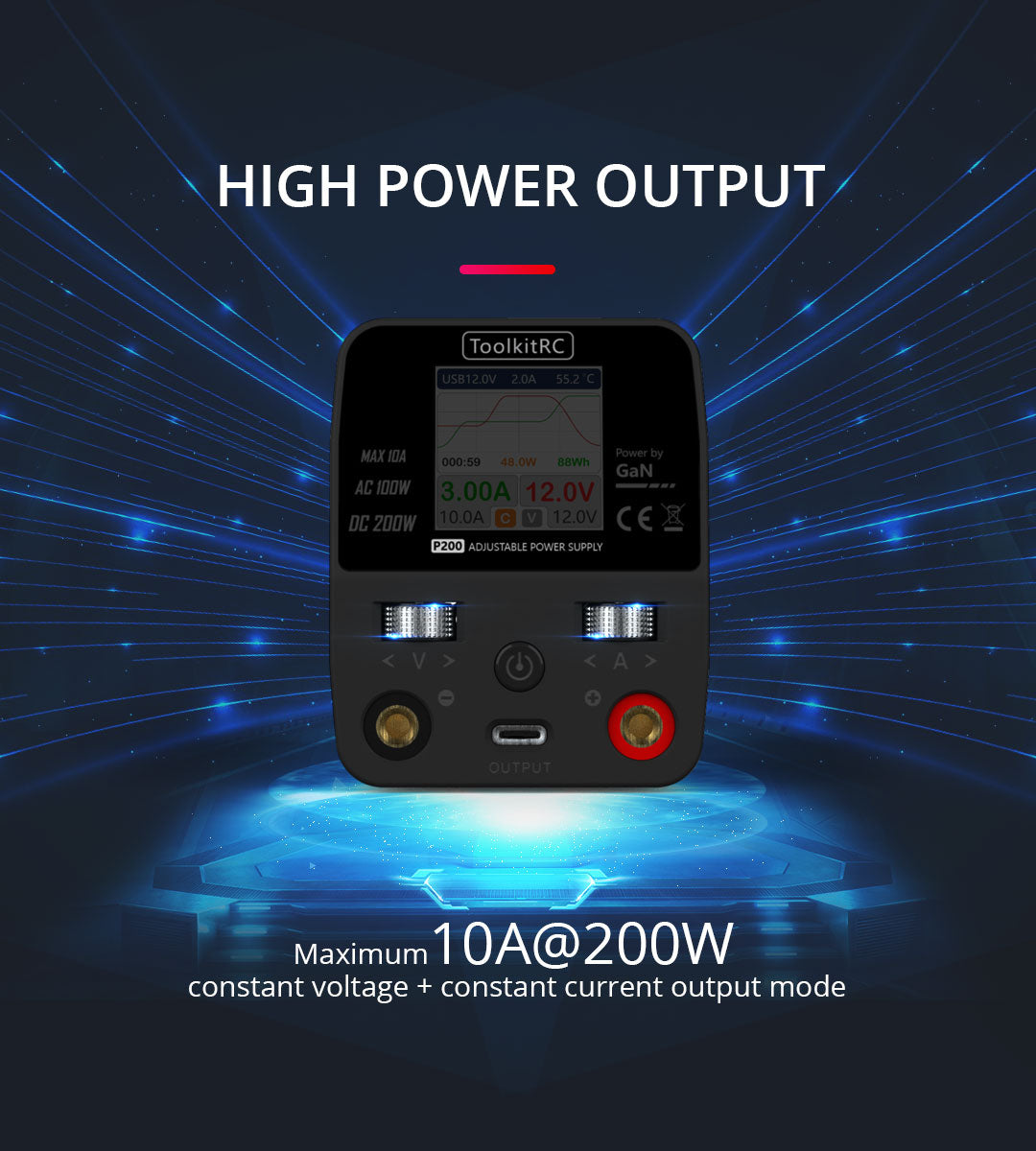 ToolkitRC P200 Power Supply