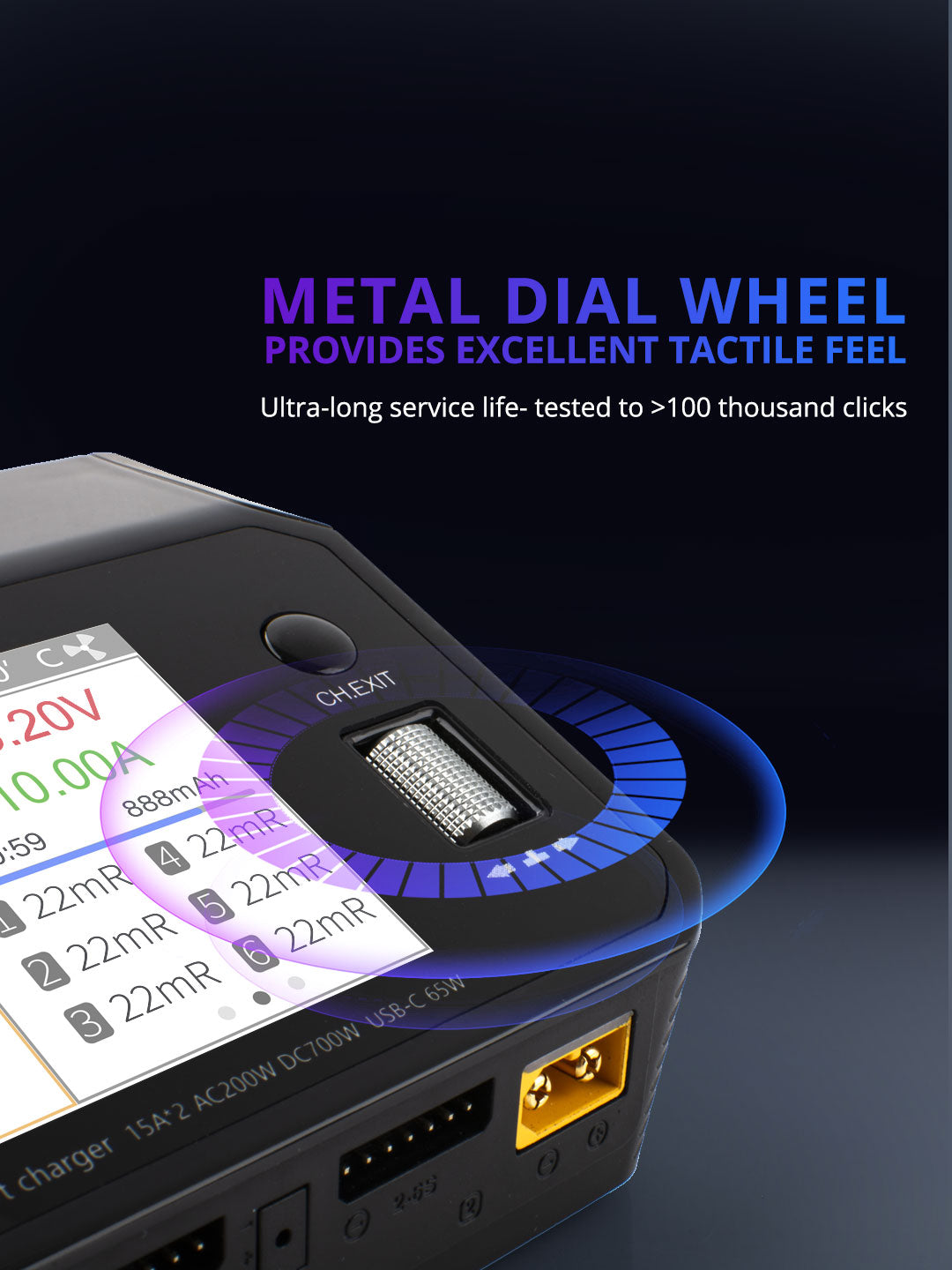 ToolkitRC M6DAC Smart Charger
