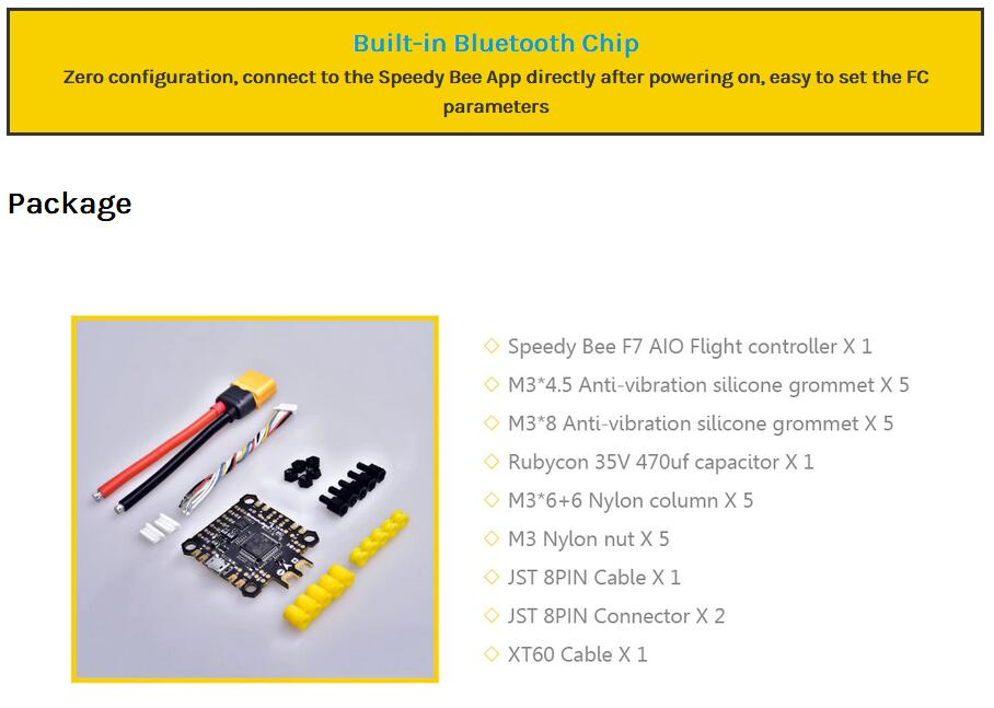 Speedy Bee F7 AIO Flight Controller