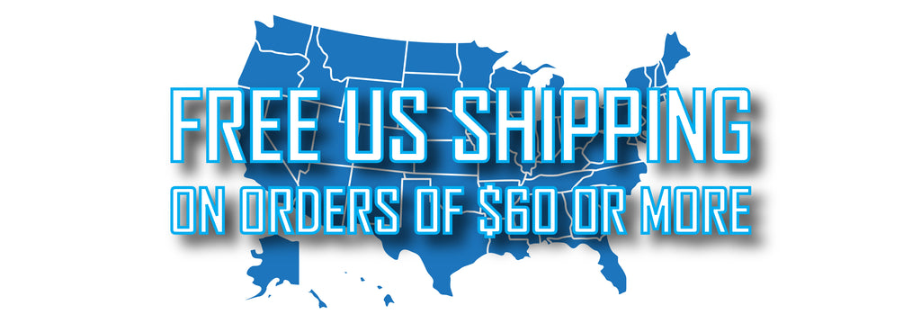 Free Shipping on most orders over $60, use code SHIPFREE
