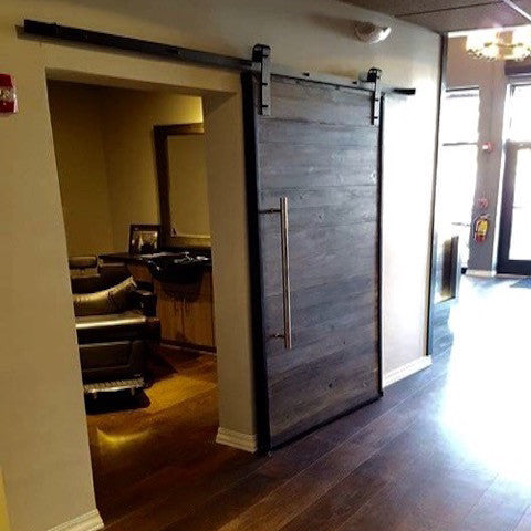 Metal Trim Plank Door