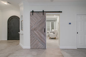 Doubletree Chevron Door