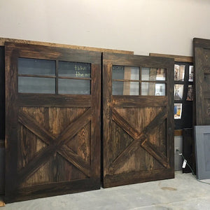 Vintage Farmhouse 4-Window Door