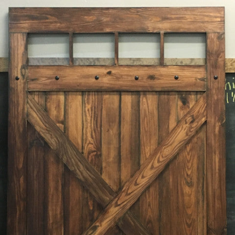 Hacienda Design Classic Sliding Wood Barn Door