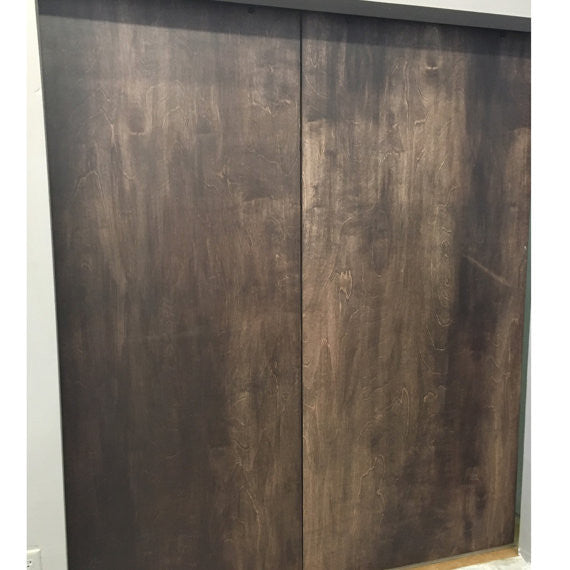 Herringbone Interior Sliding Barn Door