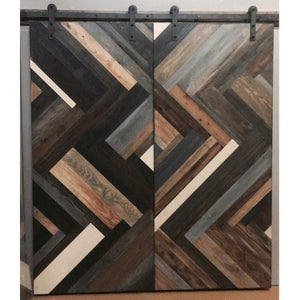 Herringbone Door