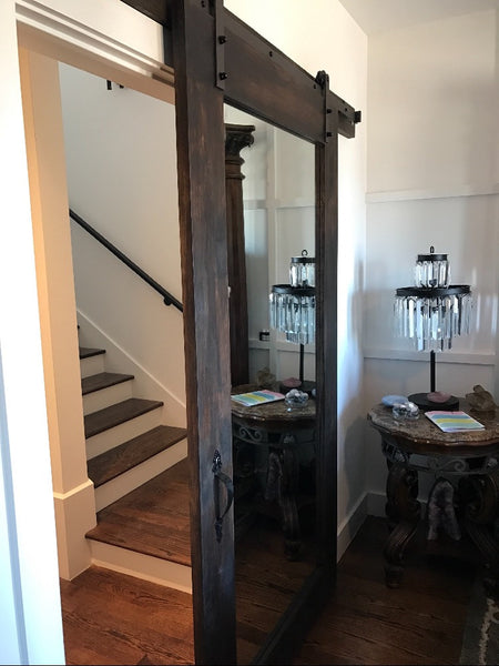 Mirrored Door