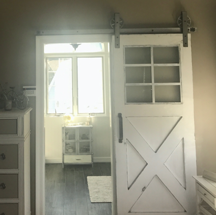 Vintage Farmhouse 6-Window Door