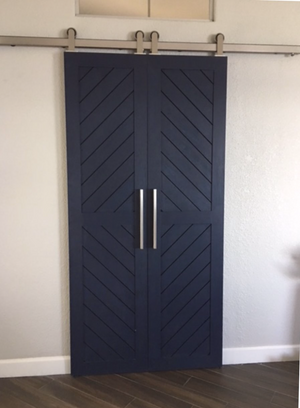 Chevron Panel Door