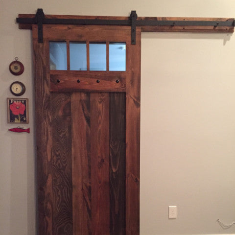Spanish Colonial Interior Sliding Barn Door