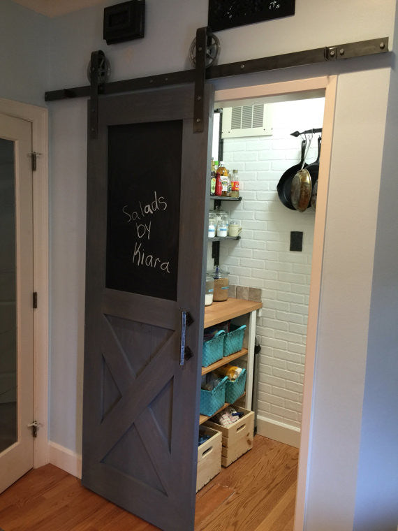 Vintage Farmhouse Chalkboard Door