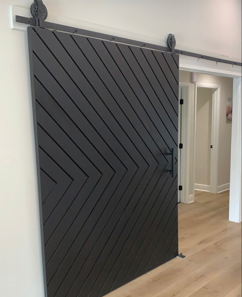 Boundless Chevron Door