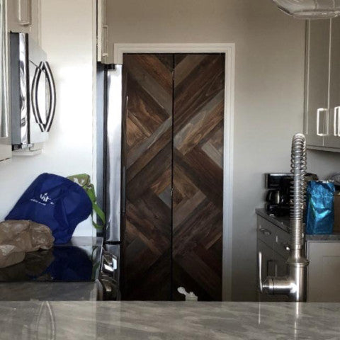 Herringbone Bi-fold Door