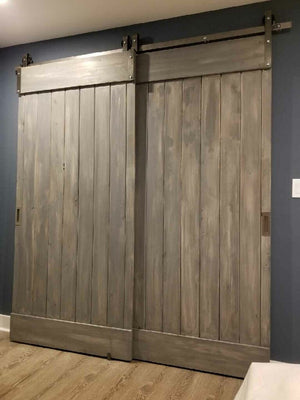 Vertical Plank Door
