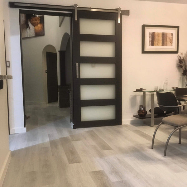 5-Panel Glass Door