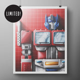 OPTIMUS 8x10 Mini Poster Print