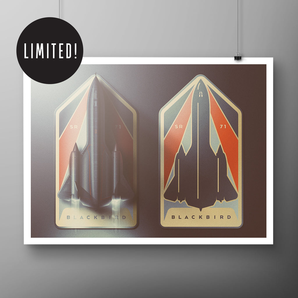 SR-71 McAwesome Art Print!