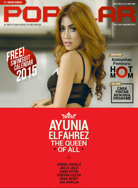 Majalah POPULAR Indonesia | Hot Mom | January 2015 Edition