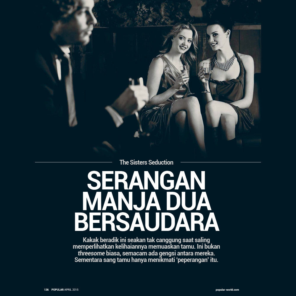 Majalah POPULAR Indonesia | Sexiness Indonesia | April 2015 Edition