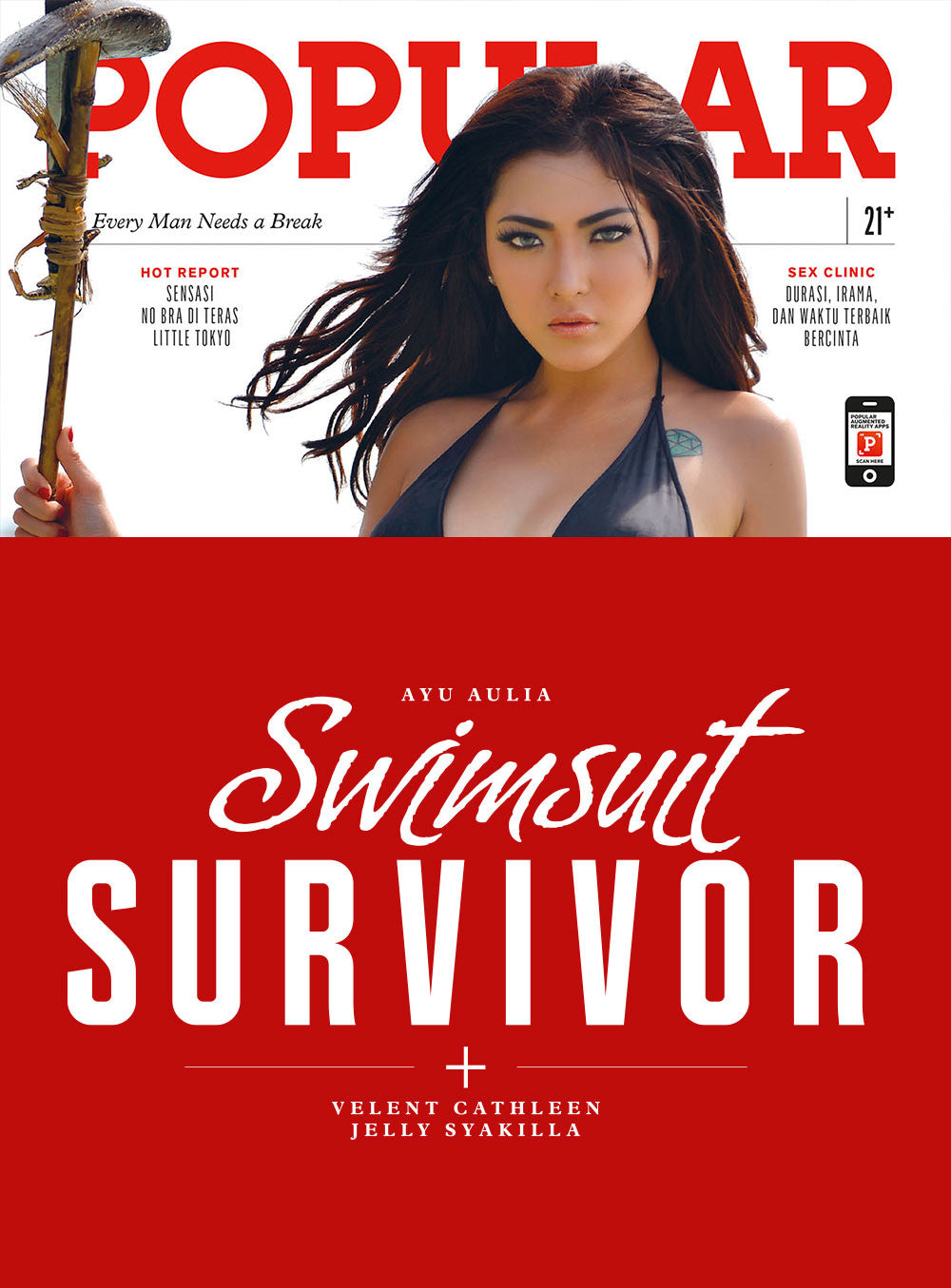 Majalah POPULAR Indonesia | Swimsuit Survivor | August 2015 Edition
