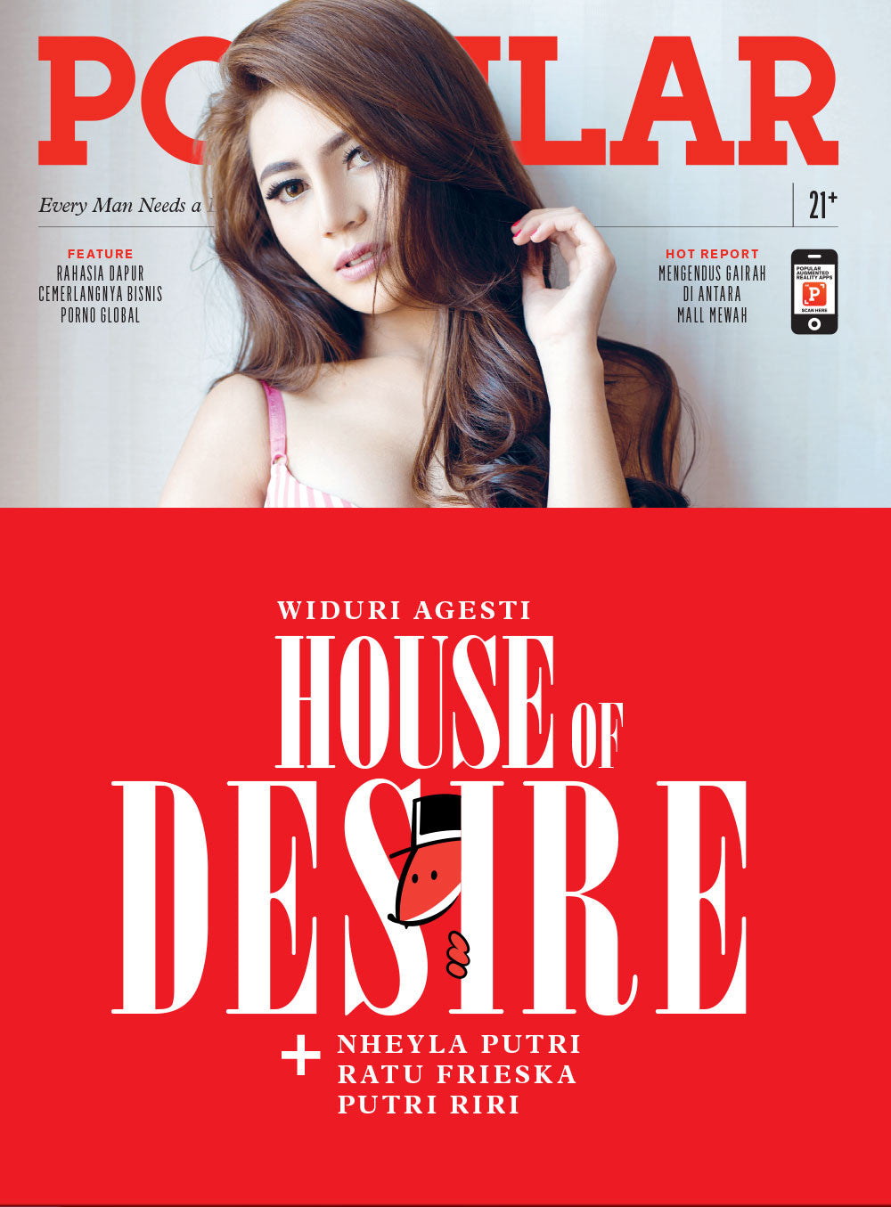 Majalah POPULAR Indonesia | House of Desire | September 2015 Edition