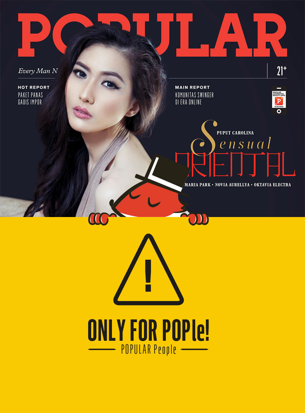 Majalah POPULAR Indonesia | Sensual Oriental | December 2015 Edition