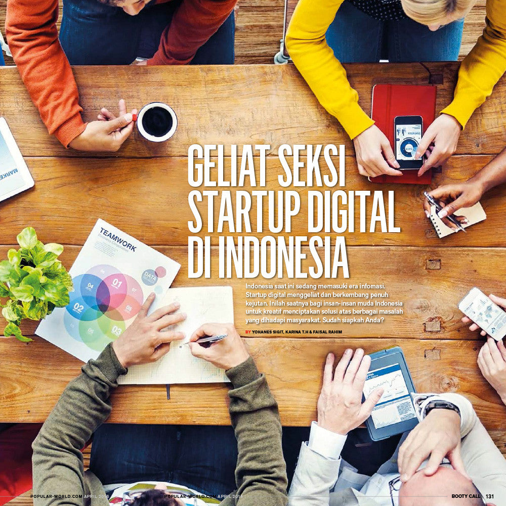 Majalah POPULAR Indonesia | Special Anniversary Edition |  Next Gen | May 2016