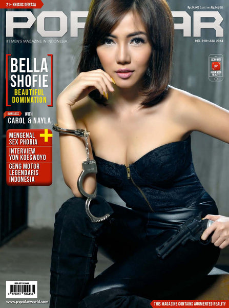 Majalah POPULAR Indonesia | Beautiful Domination | Juli 2014