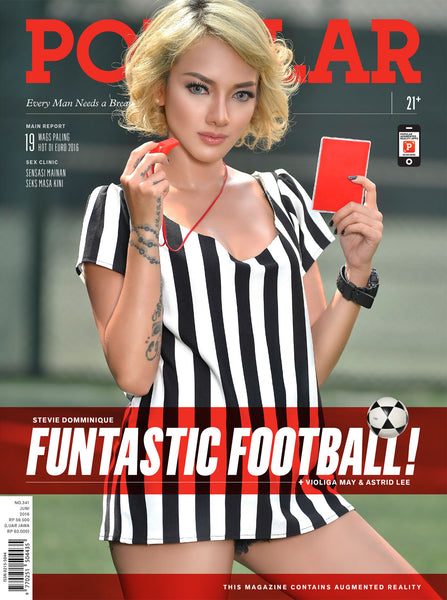 Majalah POPULAR Indonesia | FUNtastic Football | June 2016 Edition