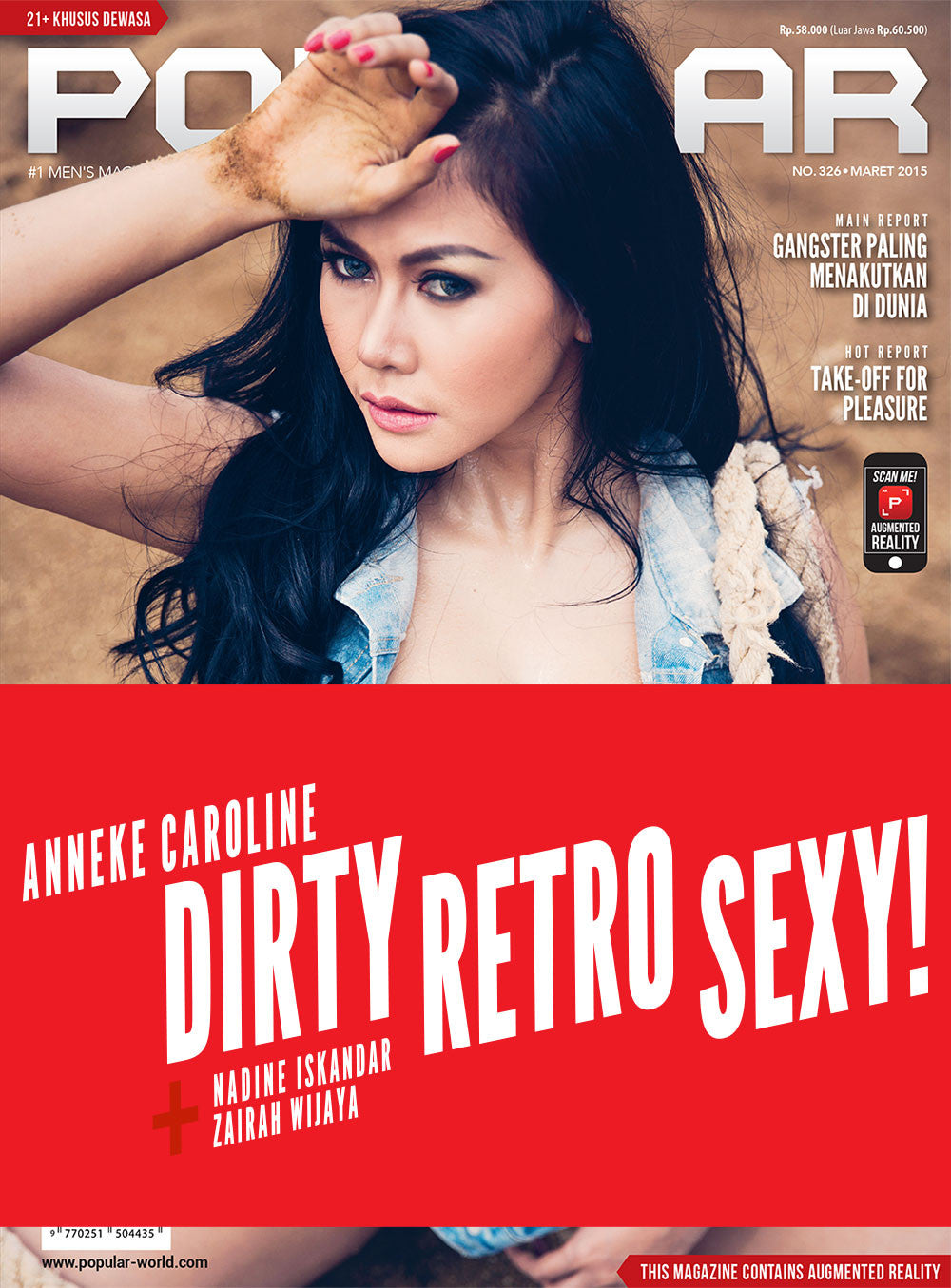 Majalah POPULAR Indonesia | Dirty Retro Sexy | March 2015 Edition