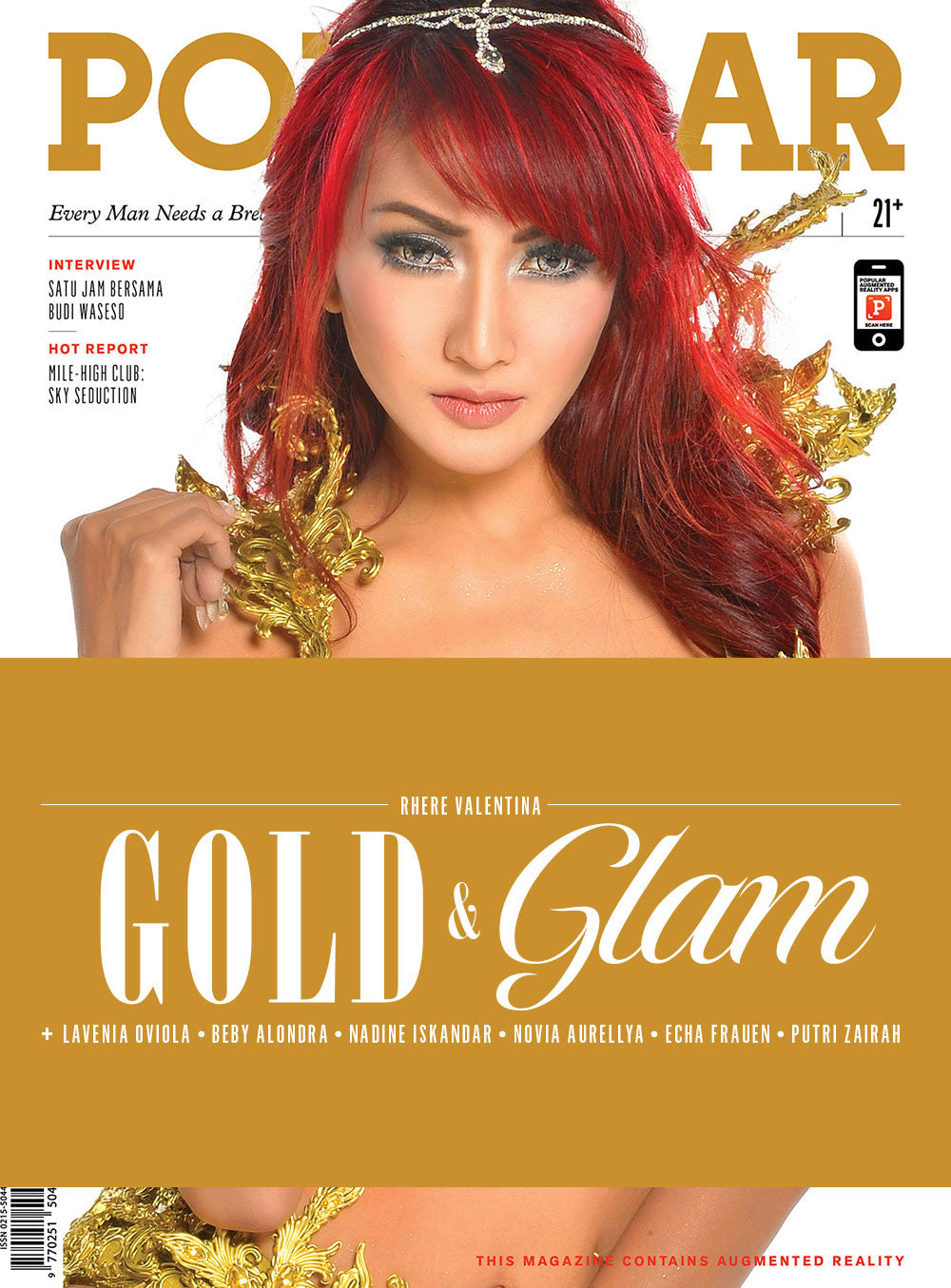 Majalah POPULAR Indonesia | Gold & Glam | January 2016