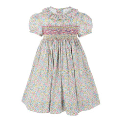 Victoria Marigold Heirloom Smocked Dress