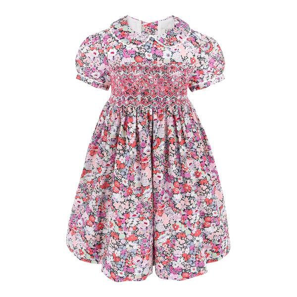 Charlotte Emily Garden Heirloom Smocked Dress