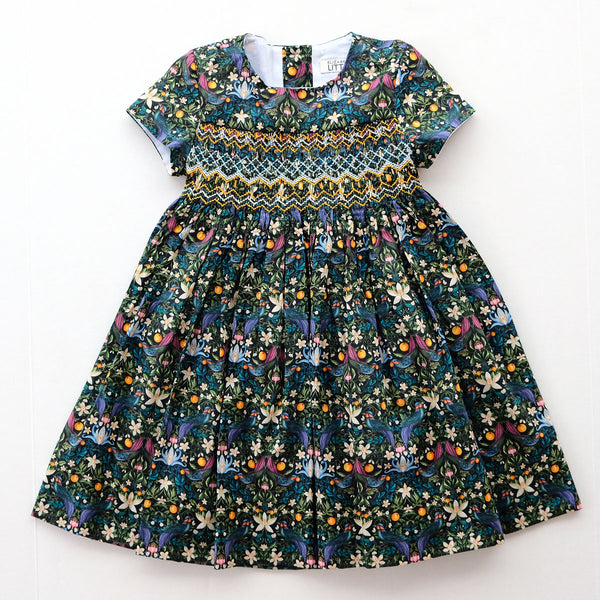 Alexandra Strawberry Feast Heirloom Smocked Dress