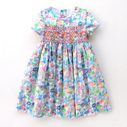 Alexandra Vanda Smocked Dress