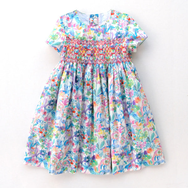 Alexandra Vanda Smocked Dress [Pre-Order]