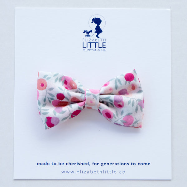 Berry Pink Miki Bow Hairclip - Limited Edition