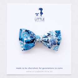 Elise Blue Miki Bow Hairclip