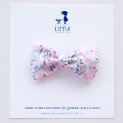 Berry Morganite Miki Bow Hairclip - Limited Edition