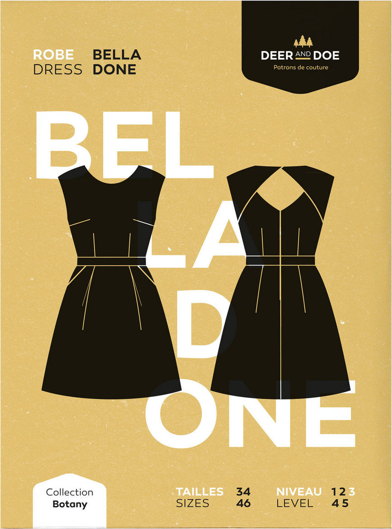 Deer and Doe Belladone Dress Pattern
