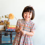 Charlotte Camellia Heirloom Smocked Dress