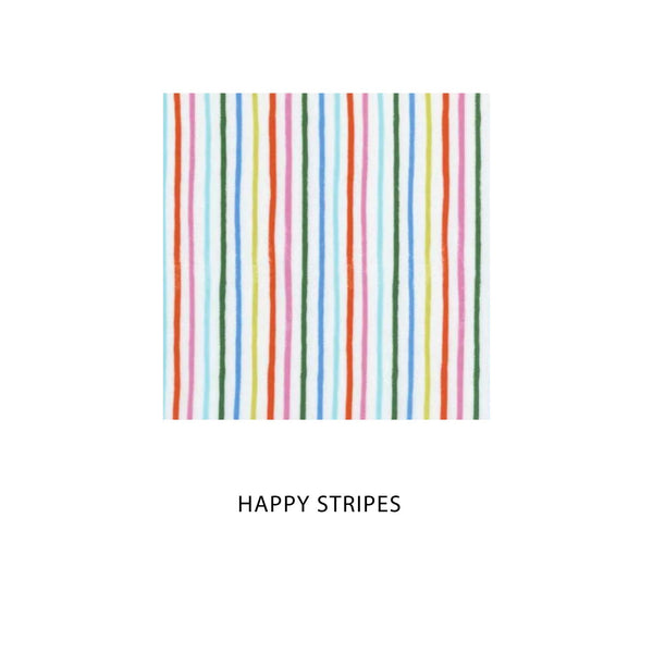 Happy Stripes Rifle Paper Co Fabric Mask [ 3 Ply ] 27-05-20