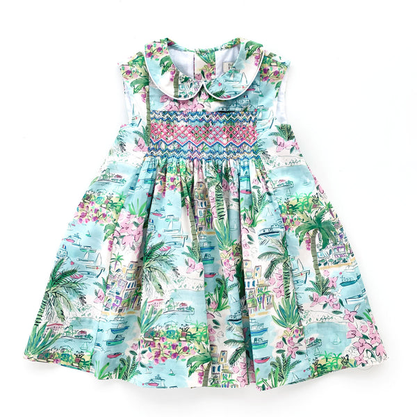 Eleanor Capri Heirloom Smocked Dress
